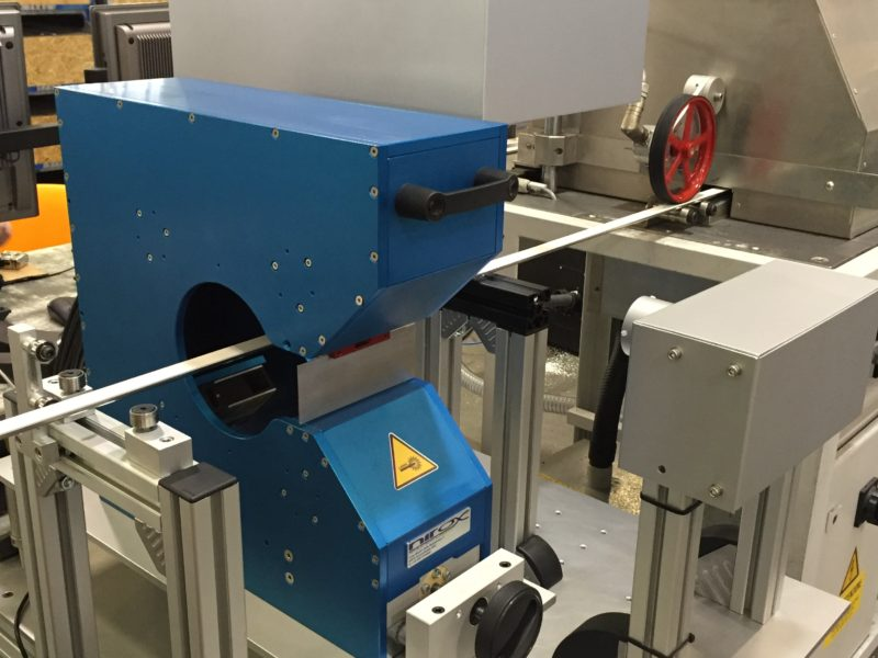 9 sistema di misurazione per profili in plastica