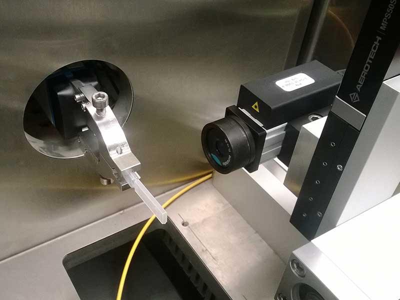 Personalizzazione di teste ottiche per integrazione su macchine particolari