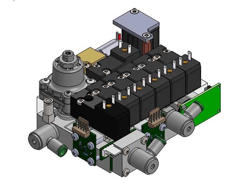 Sistemi integrati elettronici e pneumatici